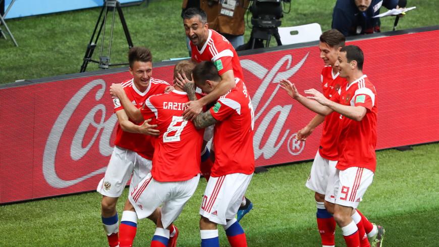 Великолепная пятерка и вратарь: Россия показала миру зрелищный футбол