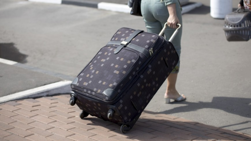 Аэропорт Шереметьево,аэропорт, Шереметьево, багаж, пассажир, чемодан, тележка,