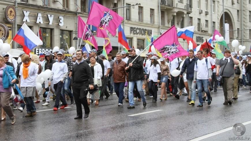 Москва «пожелтеет» в День России