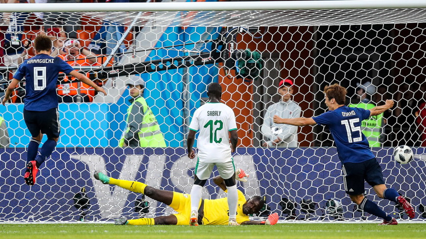 Боевая ничья: Япония дважды отыгралась в матче с Сенегалом