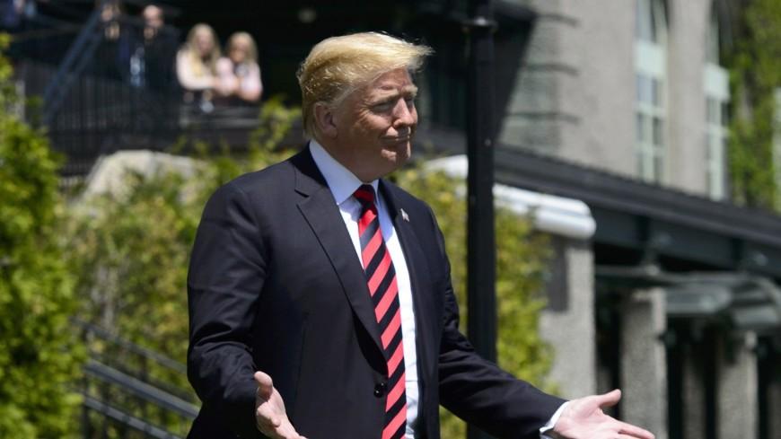 Трамп опоздал на встречу G7 по равенству полов