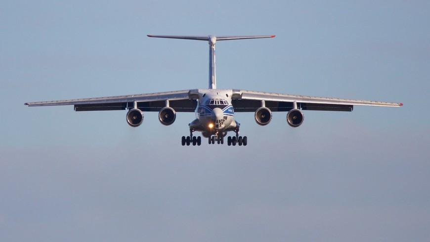 Самолет МЧС по ошибке сбросил тонны воды на полицейских в Подмосковье