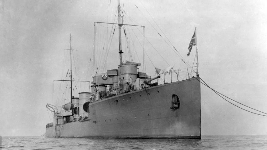 Легендарный русский корабль «Новик» найден на дне Финского залива