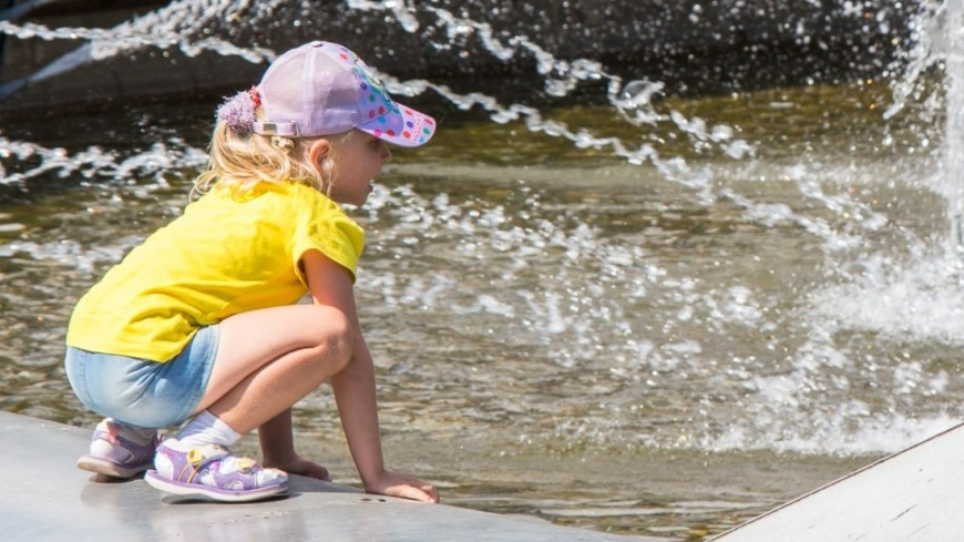 "Фото: Татьяна Константинова, ""«Мир24»"":http://mir24.tv/, фонтаны, парк, дети"