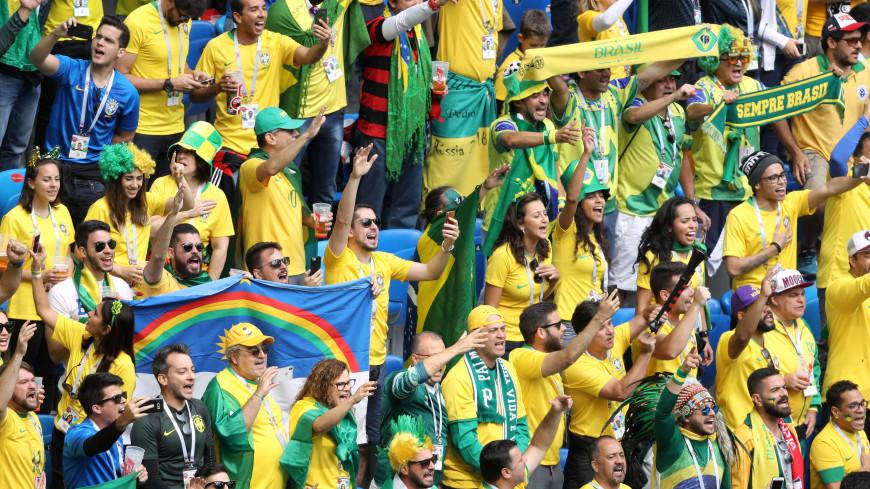 Мы ради этого и приехали: бразильцы ликуют на улицах Петербурга