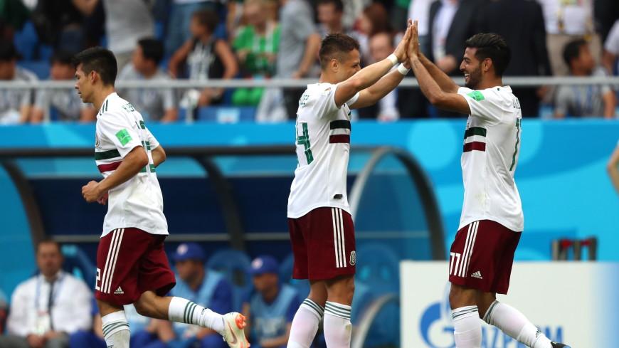 Мексика одержала вторую подряд победу на чемпионате мира