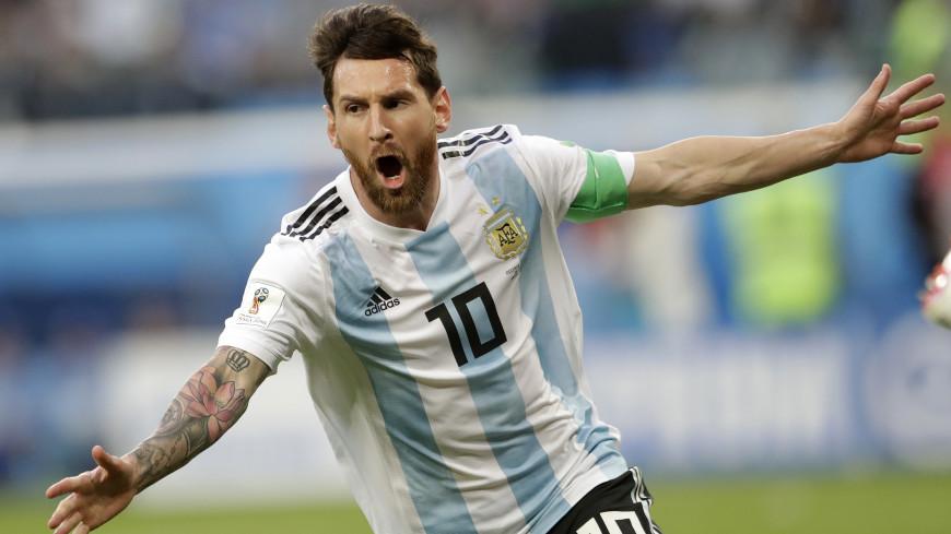 Во всей красе: Месси открыл счет в матче с Нигерией, забив первый гол на ЧМ