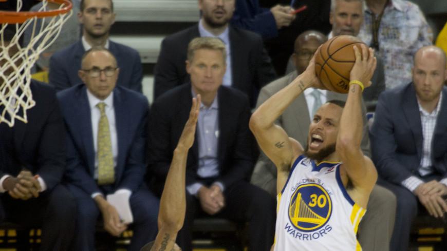 Клуб «Голден Стэйт Уорриорс» стал чемпионом НБА