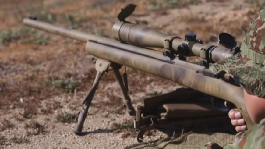 """Скриншот:  """"«Мир 24»"""":http://mir24.tv/, снайперская винтовка, снайпер, оружие"""