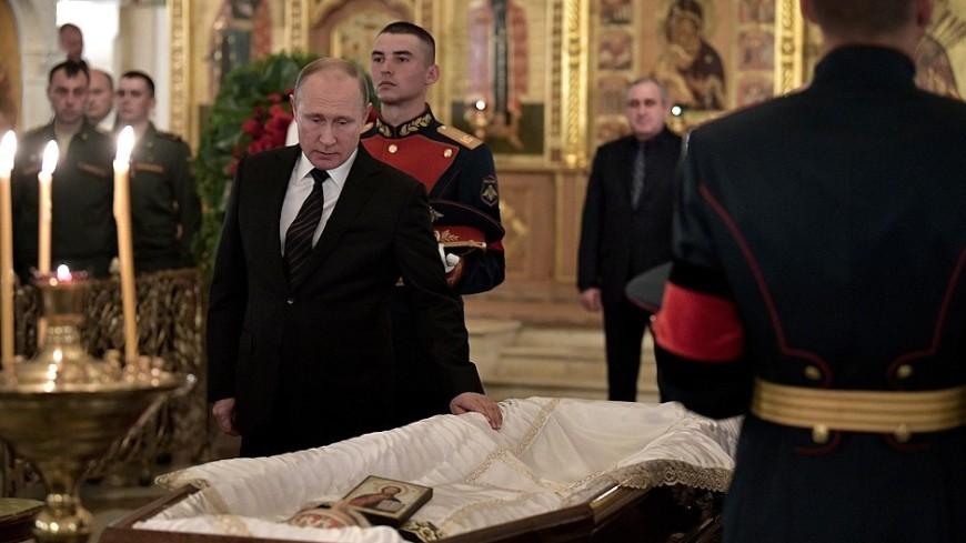 Путин: Говорухин – большой художник и настоящий патриот