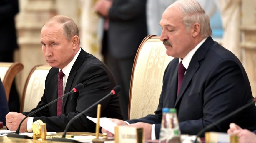 Путин и Лукашенко обсудили сотрудничество в ЕАЭС