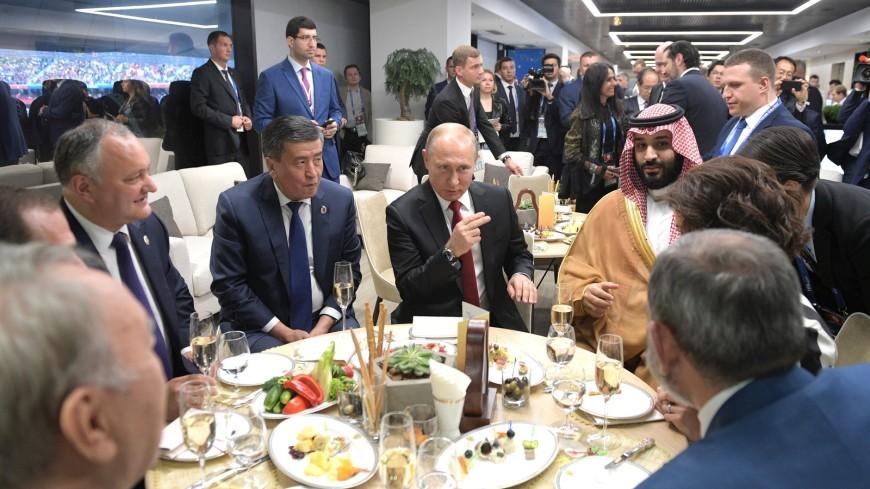 Мировые лидеры поздравили Путина с победой сборной России