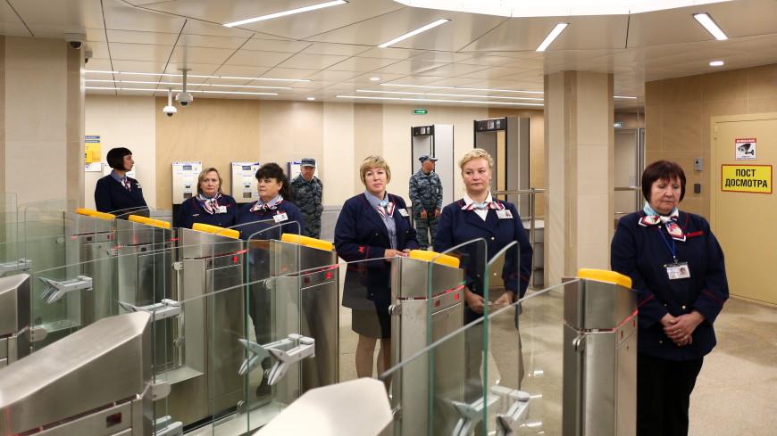 В Нижнем Новгороде открыли новую станцию метро, построенную к ЧМ по футболу