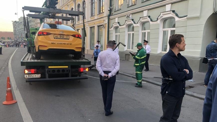 Водитель такси, сбивший в Москве семерых пешеходов, задержан