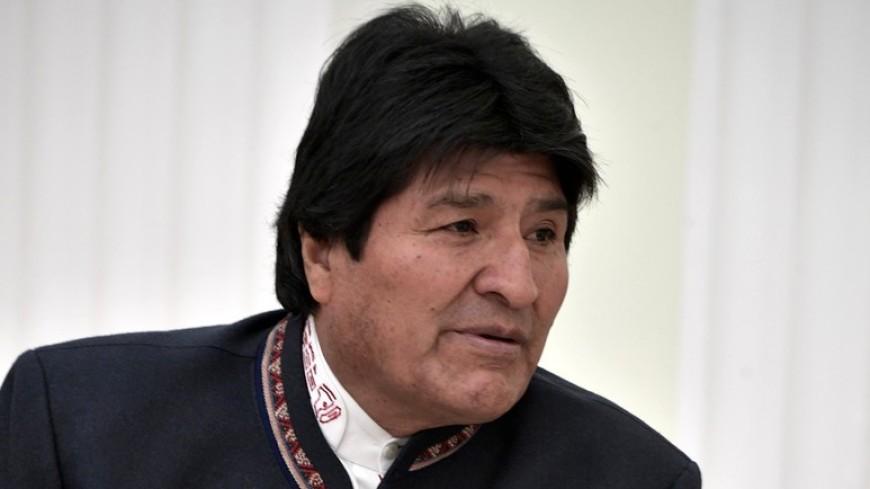 Президент Боливии Эво Моралес госпитализирован