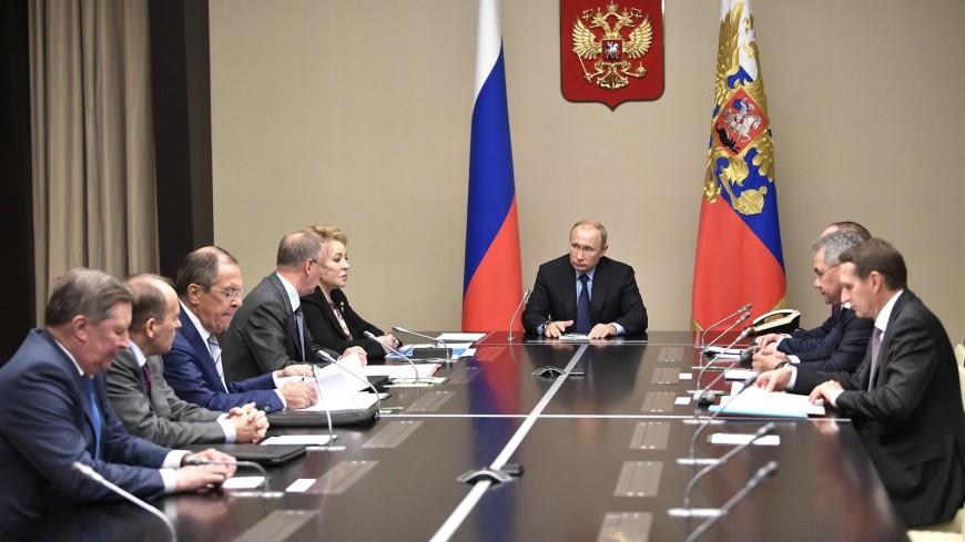 Путин переназначил Патрушева Секретарем Совета безопасности