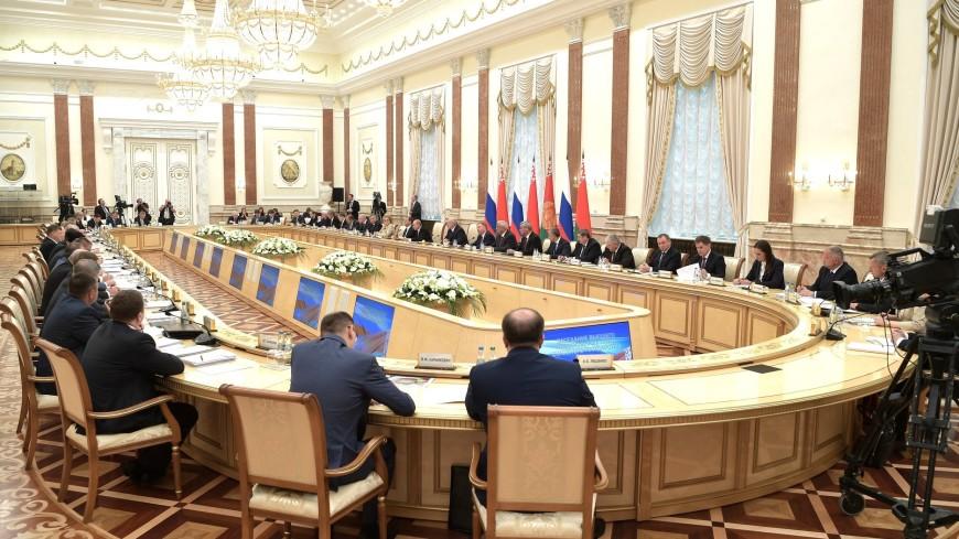 Заседание Высшего Государственного Совета Союзного государства.