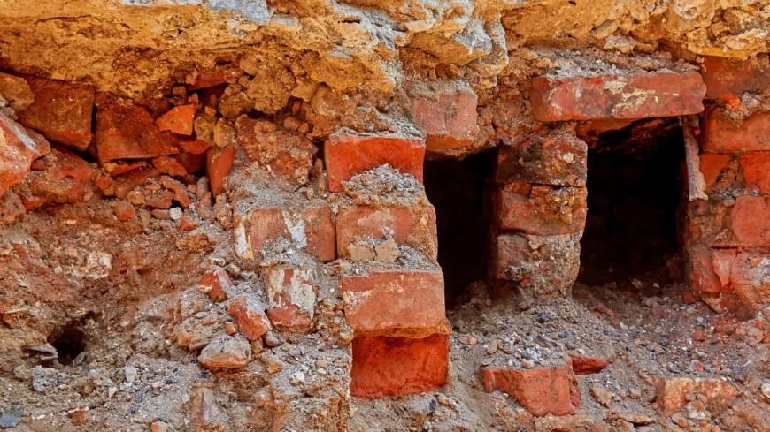 """Фото: Дмитрий Белицкий (МТРК «Мир») """"«Мир 24»"""":http://mir24.tv/, раскопки на тверской, раскопки, тверская"""