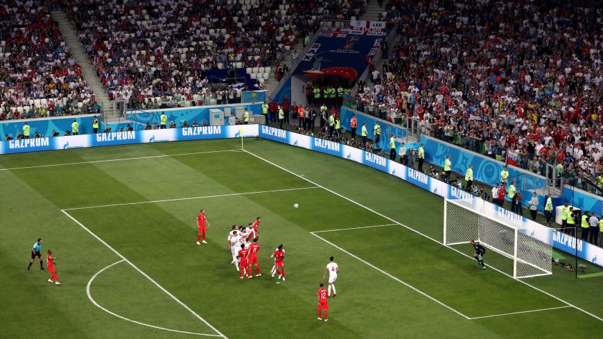 Трансляция матча англичан на ЧМ обошла по популярности свадьбу принца Гарри