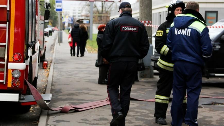 Более 100 человек эвакуировали из дома в Москве после пожара