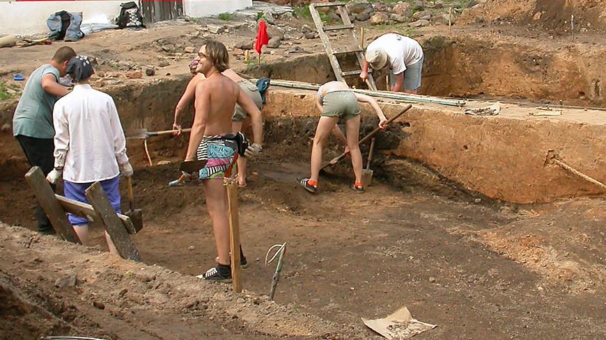 На поле фестиваля Вудсток прошли археологические раскопки
