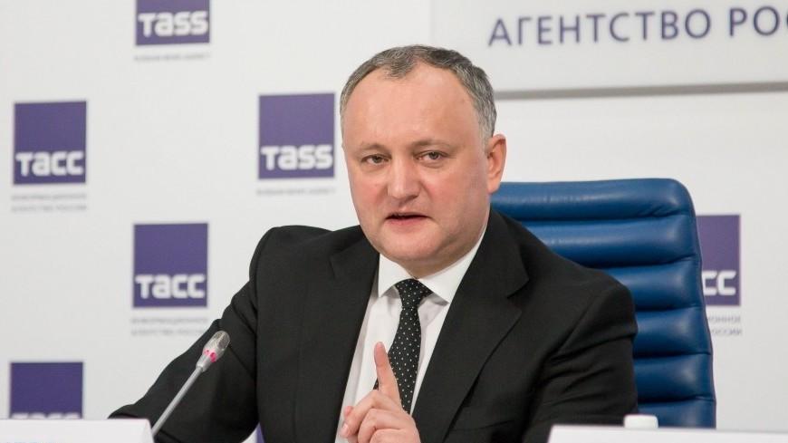 Президент Молдовы прилетит в Россию на открытие ЧМ-2018