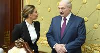 Лукашенко провел для Кабаевой мини-экскурсию и рассказал о сыновьях