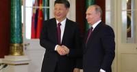 Путин поздравил Си Цзиньпина с переизбранием главой Китая