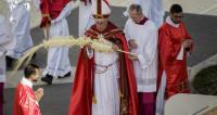 Вербное воскресенье: Папа римский напутствовал молодежь