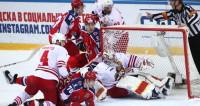 ЦСКА разгромил «Йокерит» в первом четвертьфинале КХЛ