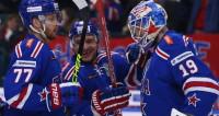 Хоккеисты СКА вышли в полуфинал Кубка Гагарина
