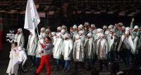 Российские атлеты прошлись под паралимпийским флагом на открытии Игр