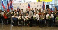 Золотые люди: паралимпийцы Беларуси и России вернулись с победами