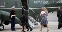 Вертолет с Иванкой Трамп на борту вернулся в аэропорт из-за неполадок