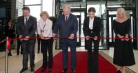 Наука побеждать: Лукашенко с Кабаевой открыли Дворец гимнастики в Минске