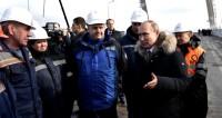 Путин: Крымский мост опережает сегодняшние потребности