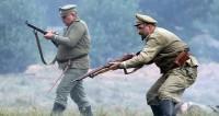 Смена эпох: 100-летию Внутренних войск Беларуси посвятили реконструкцию