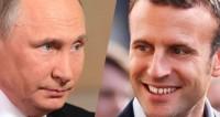 Путин и Макрон обсудили гумкоридор в Восточной Гуте