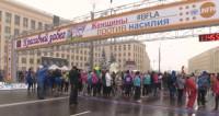 На улице снег, а в душе весна: жительницы Минска провели яркий забег