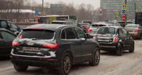 Москва погрузилась в пучину глухих пробок
