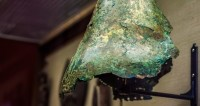 Под Оренбургом нашли шлем воина времен Золотой Орды