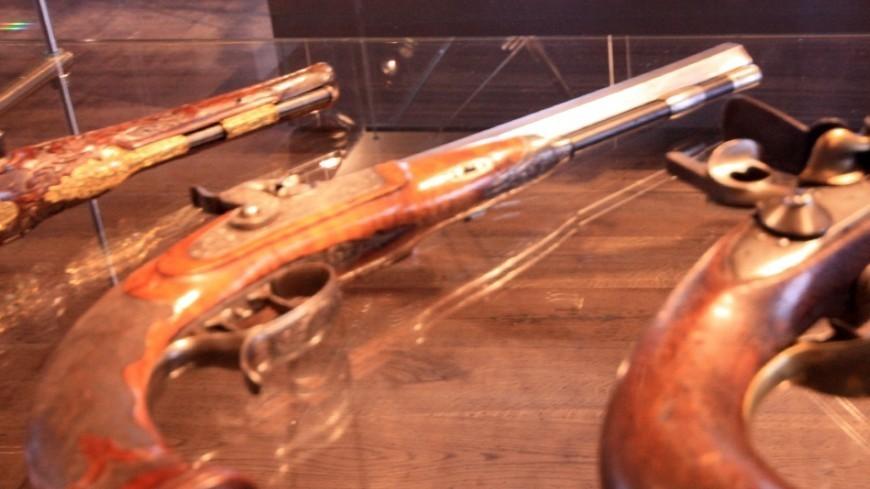 Найден старейший в мире пистолет