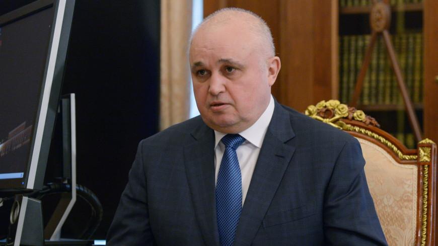 Вице-губернатор Кузбасса встал на колени перед кемеровчанами