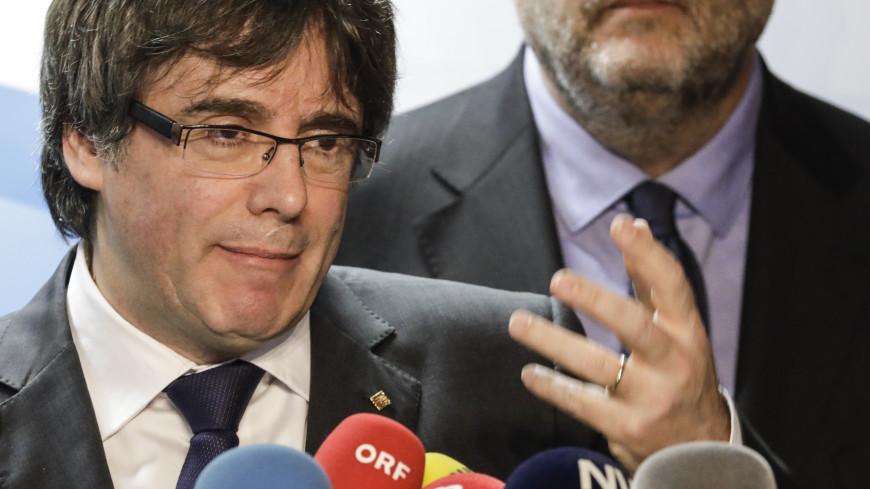 Германия получила от Испании ордер на арест Пучдемона