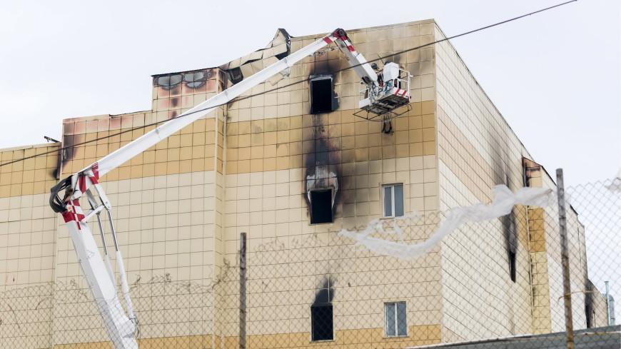 В Кемерове мальчик спасся, выпрыгнув из окна горящего ТЦ