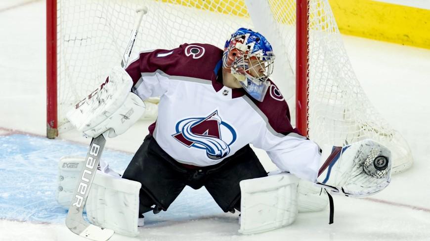 Вратарь клуба НХЛ Варламов получил травму и выбыл до конца сезона