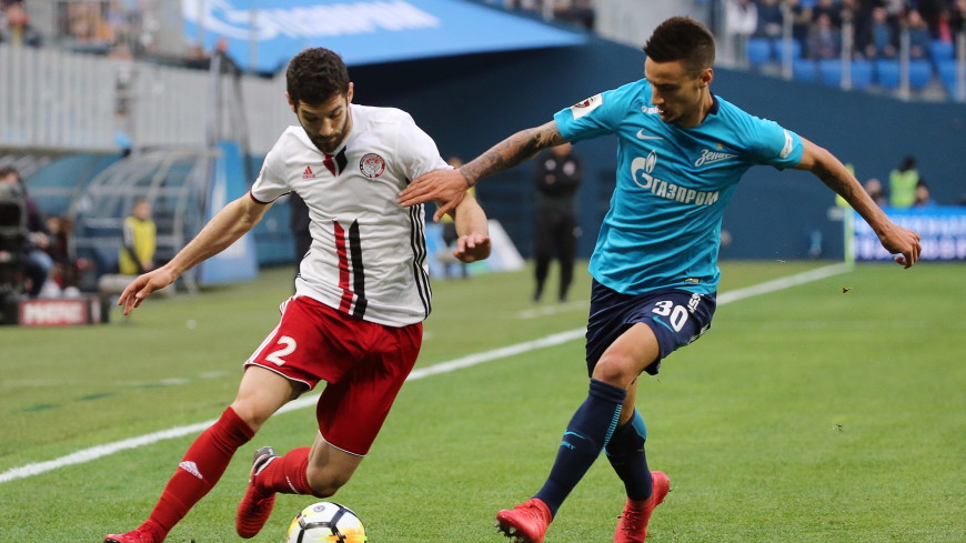 «Зенит» заработал два удаления и одно очко в матче с «Амкаром»