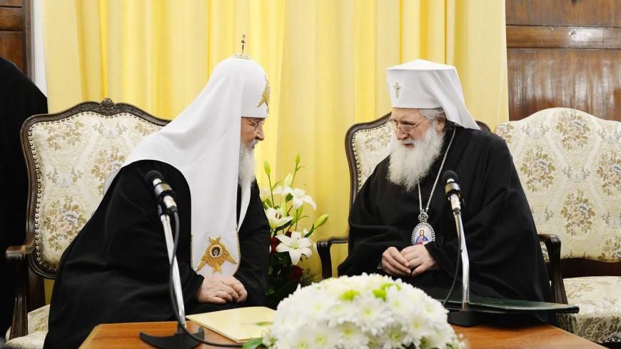 Патриарх Кирилл на Шипке спел славу освободителям Болгарии