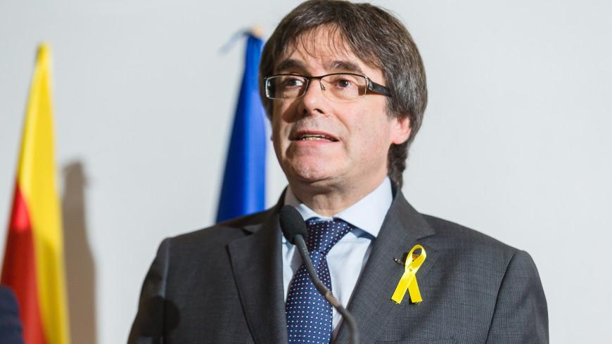 В Германии арестован Карлес Пучдемон