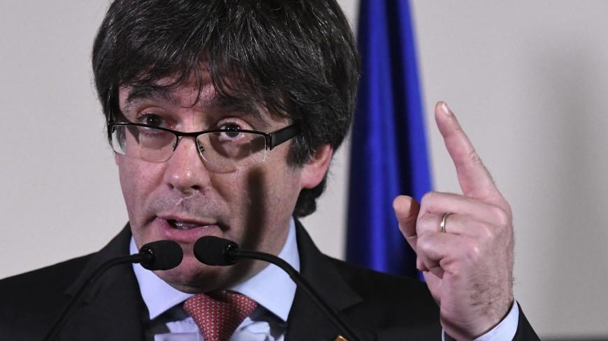 Карлес Пучдемон заявил, что не отступит от своих идей
